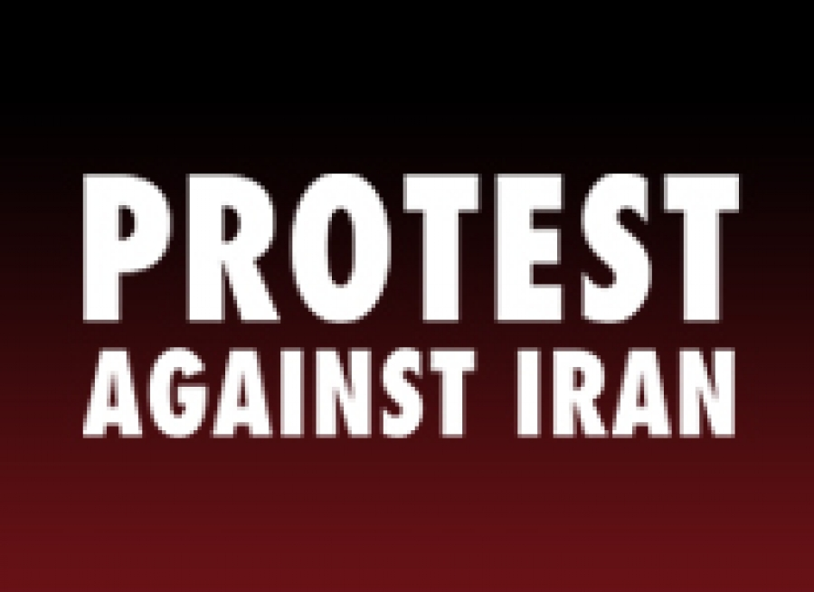 Protest Against Iran For Directly Supporting The Killing Of Muslims In Syria
