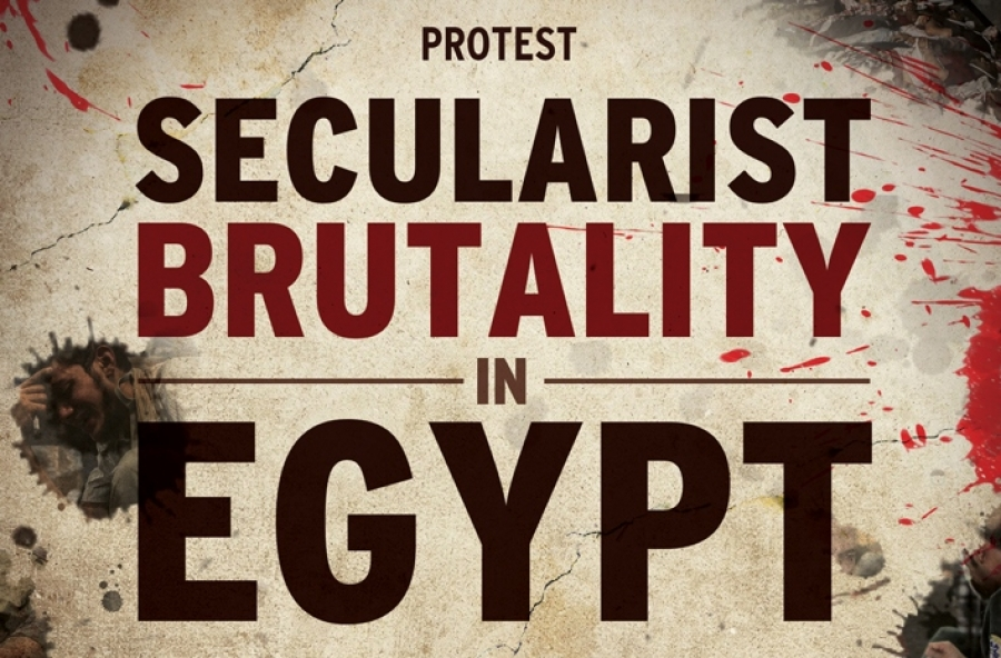 VIDEOS: PROTEST against Secularist Brutality in Egypt
