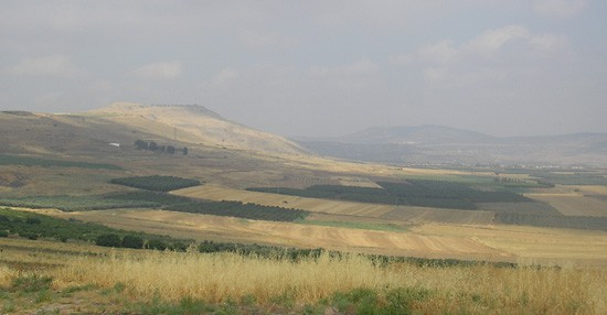 Site of the Battle of Hattin (1187).
