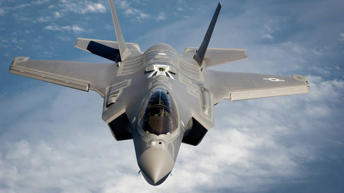 The F-35 is a 5th generation stealth fighter that is currently under research. Australia has committed to buying 72 F-35's, and they are expected to be fully operational by 2023.