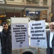 Delegation to Pakistani Consulate regarding Dr. Iftikhar