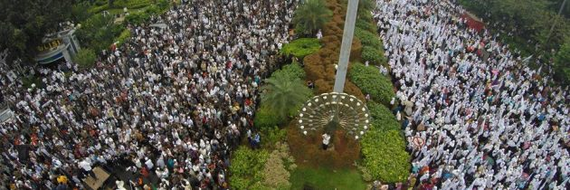 Large Rally in Indonesia calls for Islam as basis of ruling