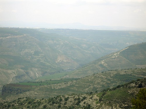 The famous ravines where the fateful Battle of Yarmouk took place.
