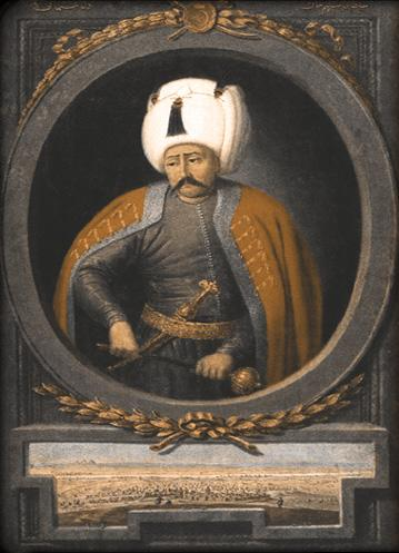 Sultan Yavuz Selim (Selim I) under whose reign the Caliphate, and the rule over al-Sham, transferred to the Ottomans.