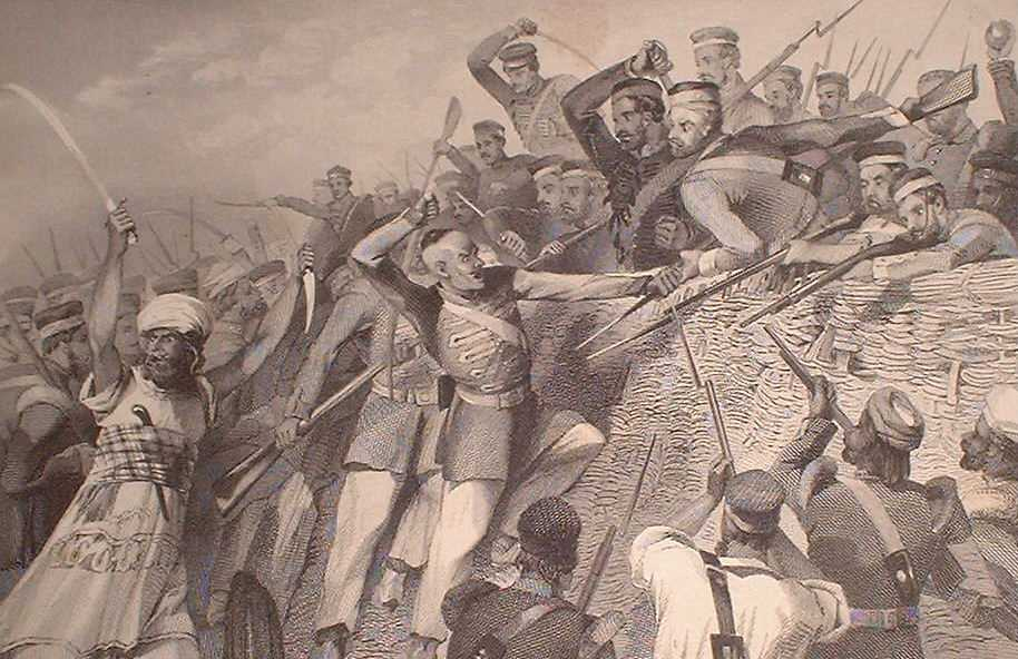 the conflict or controversy that surrounded india during 1857 Artikel/article: religion and retribution in the indian rebellion of 1857 auteur/author: crispin bates marina carter verschenen in/appeared in: leidschrift.
