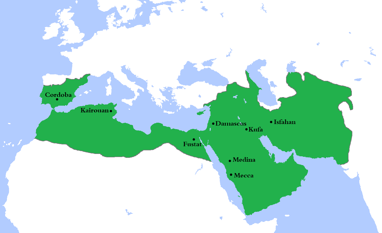 Expansion of the Ummayad Caliphate
