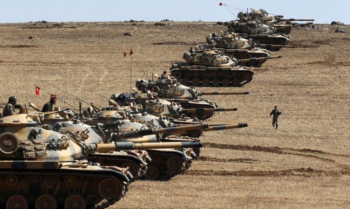 "Turkey enters Syria for her ""Euphrates Shield"" operation, August 2016."