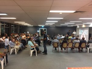 Photo from the Ta'ziya held in Sydney, Australia, on Sunday 5th Feb 2017, in tribute to Hajj Sabri Arouri