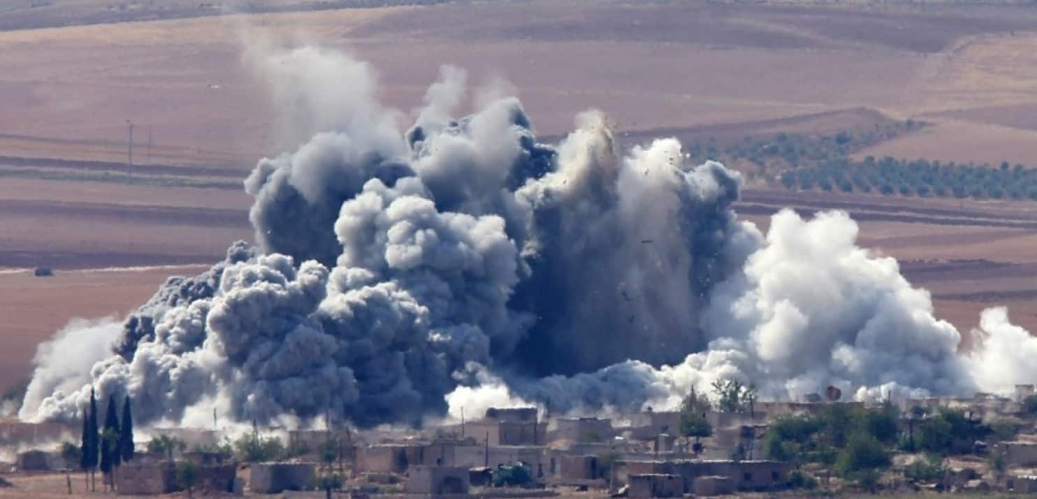 Record deaths from US airstrikes in Iraq/Syria in March