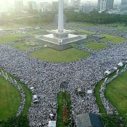 Millions march in Jakarta, Indonesia in rally organised by coalition of groups