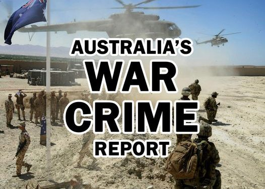 Press Release: Australia's War Crime Report