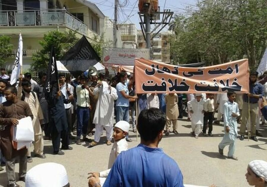 Hizb ut-Tahrir Pakistan: Demonstrations in Remembrance of 28 Rajab, Fall of the Khilafah