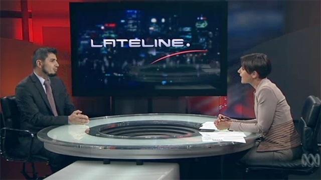 Lateline: Wassim Doureihi with Emma Alberici | Oct 2014
