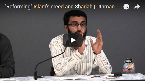 Event videos – The Agenda to Reform Islam