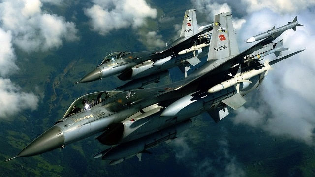 300 dead – Turkey's airstrikes on Aleppo in co-ordination with the USA