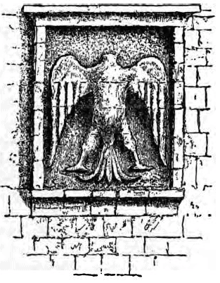 """The """"Eagle of Salahhudeen"""", one of his symbols, which has gone on to become the symbol of many of the Arab countries' flags and coats of arms."""