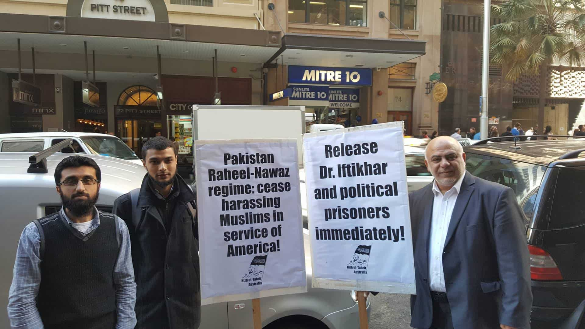 Delegation to Pakistani Consulate regarding Dr. Iftikhar
